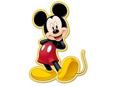 Personagem Decorativo Mickey Clássico - Regina Festas
