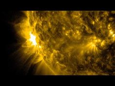 NASA | SDO Sees Two Solar Flares - YouTube - The sun emitted a significant solar flare, peaking at 7:42 a.m. EDT on June 10, 2014. NASA's Solar Dynamics Observatory - which typically observes the entire sun 24 hours a day -- captured images of the flare.