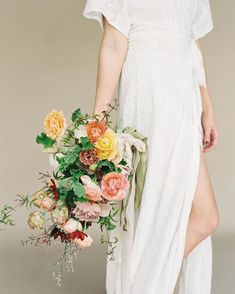 Fall Wedding Bouquets, Bridesmaid Dresses, Wedding Dresses, Short Sleeve Dresses, Instagram Posts, Autumn, Flower, Fashion, Bride Maid Dresses