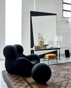 Armchair Serie Up 2000 -BB Italia - Design by Gaetano Pesce B&b Furniture, Milan Furniture, Classic Furniture, French Furniture, Modern Furniture, Furniture Design, Furniture Companies, Furniture Buyers, Furniture Stores