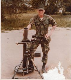 81 mm Mortar - Vietnam