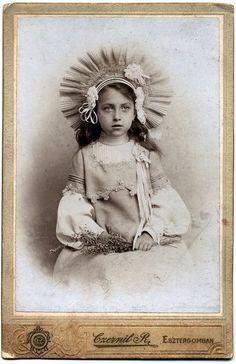 Bonito Antiguo Marco De Fotos Con Imagen Comunión 1905 Buy Now Muebles Antiguos Y Decoración