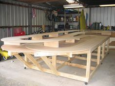 Under Construction Slot Car Track