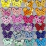 Rainbow of Butterflies Crochet tutorial #crochet #tutorial #butterfly