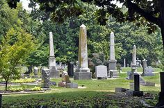 Elmwood Cemetery in Memphis, TN