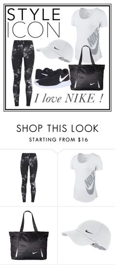 """Collection no.25"" by dzenny10 ❤ liked on Polyvore featuring NIKE"