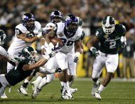 Michigan St. edges TCU in BWW Bowl (AP Photo/The Arizona Republic, )