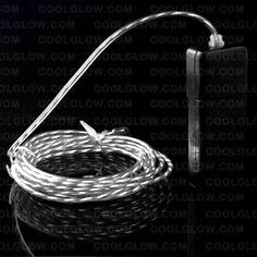 Silver motion El Wire!
