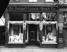 Dr. Deimel Linen-Mesh Company, Montreal, QC, 1908 by Musée McCord Museum, via Flickr