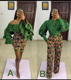 African Wear Dresses, Latest African Fashion Dresses, African Inspired Fashion, African Print Fashion, Africa Fashion, African Attire, African Print Shirt, African Print Jumpsuit, Ankara Dress Designs