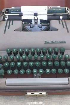 25 Best PSPOETS' Store images in 2019 | Typewriter for sale