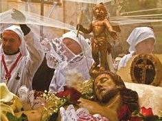 Image result for settimana santa cagliari Keep Alive, Holy Week, Influenza, Santa, Fictional Characters, Image, Spring, Fantasy Characters