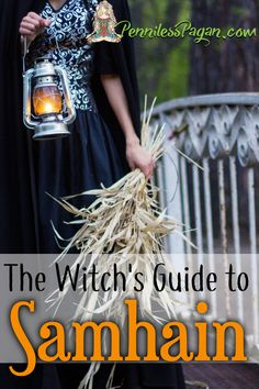 The Witch's Guide to Samhain Penniless Pagan: The Witch Leitfaden für Samhain Samhain Ritual, Wiccan Rituals, Wicca Witchcraft, Wiccan Sabbats, Halloween Tags, Samhain Halloween, The Witcher, Samhain Traditions, Eclectic Witch