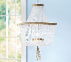 Chandeliers For Kids and Baby | Pottery Barn Kids option for one of the girls.  179.99