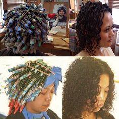 カーラーフェチ・パーマフェチ・顔パックフェチの掲示板 - 31~40件目 Medium Permed Hairstyles, Perm Rods, Tight Curls, Super Long Hair, Curlers, Hair Beauty, Curly Short, Dreadlocks, Perms