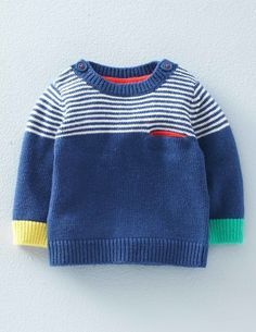 Treat your little one to our incredibly lovely jumper, with a dash of cashmere and fun designs. You can machine wash without losing colour, shape or supersoftness.