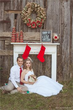 A Rustic Christmas Styled Wedding Shoot {Mobile, Alabama Wedding Photographer} | Mobile, Alabama Wedding Photographer Jennie Tewell {Christmas Cards?}