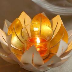 Kultainen lootuksen kukka
