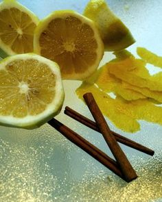 Want to make your house smell like fall? Boil cinnamon sticks and oranges on low heat.