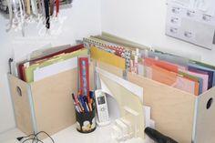 _DSC6984 Stampin Up Aufbewahrung Basteltisch