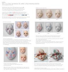 Raw Resin: Faceup tutorial