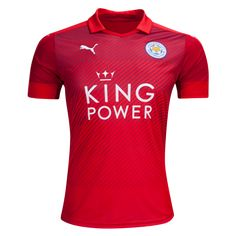 Leicester City 16/17 Away Soccer Jersey