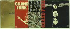 Grand Funk LP Vinyl #Records Lot: Closer to Home + American Band +Self Titled