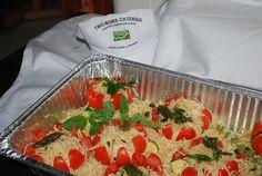stuffed raw heirloom tomatoes