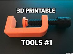 Everyday We struggle to Find What to Print on our beloved 3D Printers. Well now you have a list on 3D Printable Tools. Create | 3D Prints | 3D Printer | 3D Design | 3D printing | The3DWay | 3D Tech |