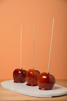 #candied #apples #decorated #halloween #treats #pumpkins #mummies #monsters and much more from #oushe #gourmet #bakeshop #dubai #uae www.oushe.com 043850011