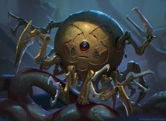 ArtStation - Curious Killbot - Magic the Gathering, Alex Konstad