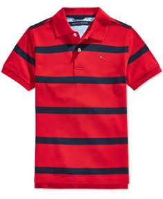 Tommy Hilfiger Outfit, Tommy Hilfiger Shirts, Boys Summer Outfits, Little Boy Outfits, Polo T Shirts, Golf Shirts, Mens Fashion Wear, Marco Polo, Men's Polo