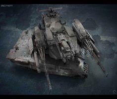 Bolo tank MK VI BTE