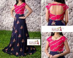 50 ideas skirt pattern long floral maxi for 2019 Kurti Designs Party Wear, Lehenga Designs, Kurta Designs, Blouse Designs, Indian Gowns Dresses, Indian Outfits, Long Gown Dress, Long Frock, Frock Dress