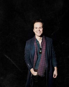 Isn't it funny how he can turn from Andrew to Moriarty in under five seconds
