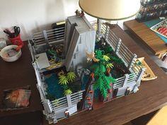Lego Jurassic Park, Micro Lego, Cool Lego, Lego Ideas, Lego City, Legos, Monsters, Minecraft, Toms