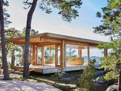 Heikki ja Kaija Sirenin ikonisen merikappelin innoittamana syntyi pakopaikka, jossa on kaikki, mitä ihminen tarvitsee.
