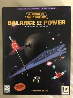 1997 PC Star Wars: X-Wing vs. TIE Fighter -- Balance of Power Campaigns Simulation Space Combat Sim on Star Wars Games - Checklist   Trello