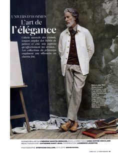 AIDEN SHAW BY STÉPHANE GALLOIS FOR LE FIGARO