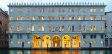 Dfs Venedig Fondaco de Tedeschi Rialto plessi under water auf dach