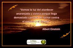 Atardecer -- Sunset -- Albert Einstein