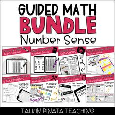 ***UPDATE NOTICE: GUIDED MATH NUMBER SENSE has been updated as of 6/22.*** -I am currently in the process of updating ALL of my Guided Math Units to mirror how Guided Math is currently being taught in my classroom. -If you are interested in my other