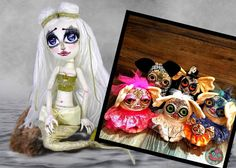 I have changed and grown so much as an artist. Chiara Venice Art Dolls and Abnormalz So Sweetz Vintage Circus, New Things To Learn, Picture Show, Doll Toys, Art Dolls, Venice, Creepy, Creatures, Deviantart