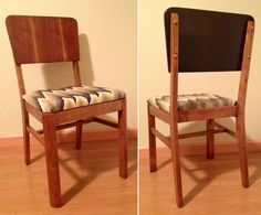 1940s Dining Chairs Got A Makeover! #vintage #furniture #restoration
