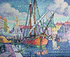 Paul Signac - The Port, 1923, Photo © Lefevre Fine Arts Ltd., London/ The Bridgeman Art Library