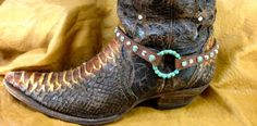 Show off your favorite boots with The Rowdy Cowgirl's newest Boot Bling