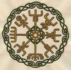 """Vegvisir - The Icelandic word literally means 'guidepost' It is a Norse protection symbol, intended to help the bearer find their way through bad weather. """"if this sign is carried, one will never lose one's way… even when the way is not known"""""""