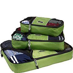 eBags Packing Cubes - 3pc Set - Grasshopper - via eBags.com!