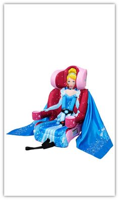 CINDERELLA Friendship Combination Booster Car Seat from KidsEmbrace