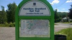 The Hamilton to Brantford Rail Trail